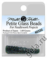 40332 бисер Mill Hill, 15 Emerald Petite Glass Beads