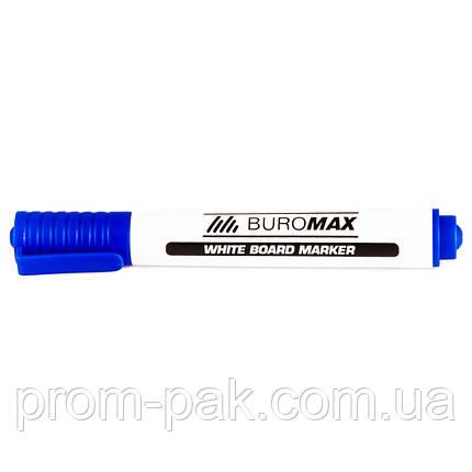 Маркеры для магнитной доски ВМ.8800-02 синий, фото 2