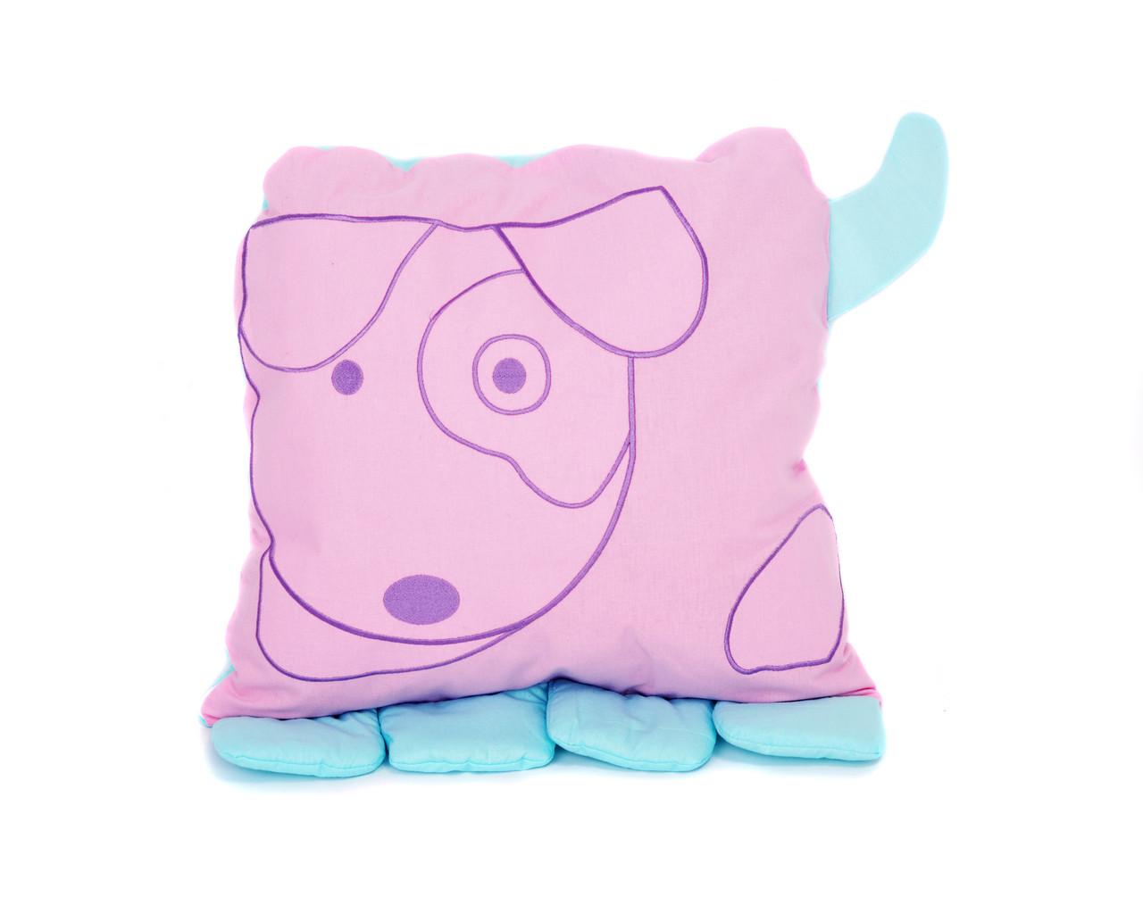 """Подушка для сна """"Звери"""" Собака"""