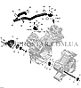 Сальник вала привода водяного насоса BRP CanAm Outlander G1-G2 420650310., фото 2