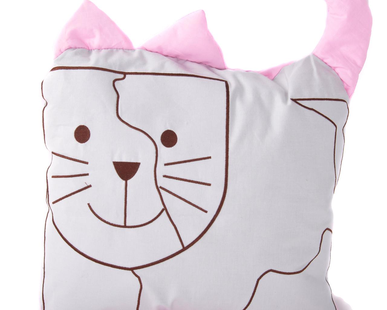 "Подушка для сна ""Звери"" Кот"