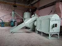 Монтаж, пуско-наладка линии брикетирования, сушки АВМ 0-65