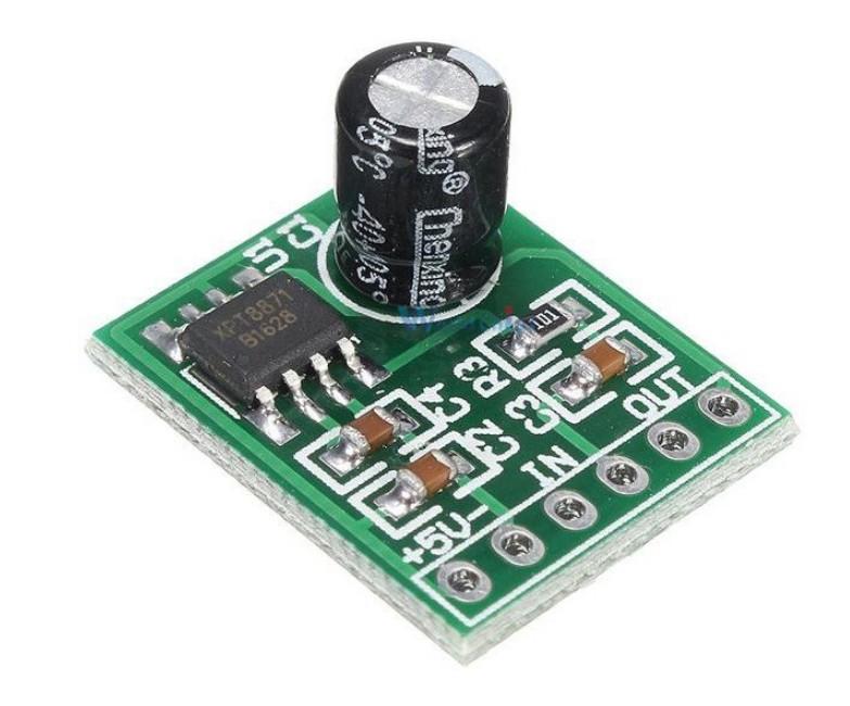 Аудіо підсилювач XH-M125 на чіпі XPT8871 6 Вт