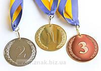 Комплект спортивных медалей  1,2,3 место
