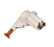 Кран тормозной обратного действия с ручным управлением и устройством растормаживания 4-х выводной (1-й сорт)