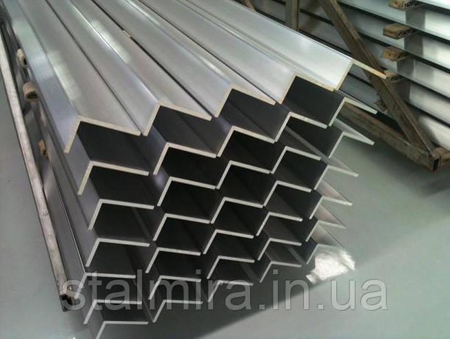 Уголок алюминиевый 60/30, толщина стенки 3, марка алюминия АД31, АМг5, Д16Т, АМц