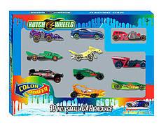 """Набор машин """"Kutch Wheels"""" металлопластик, меняют цвет, 10 штук, в кор. 27*20*4см (60шт)"""