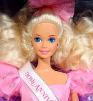 Колекційна лялька Барбі / Barbie Anniversary Star Doll Wal-Mart 30th Anniversary Special Limited (1992 р.), фото 2