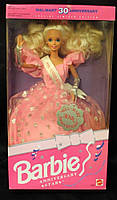 Колекційна лялька Барбі / Barbie Anniversary Star Doll Wal-Mart 30th Anniversary Special Limited (1992 р.), фото 4