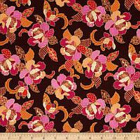 """Ткань для пэчворка и рукоделия американский хлопок """"Розы"""", ЗОЛОТО - 22*55 см"""