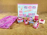 Кукольная мебель Детская комната , фото 1