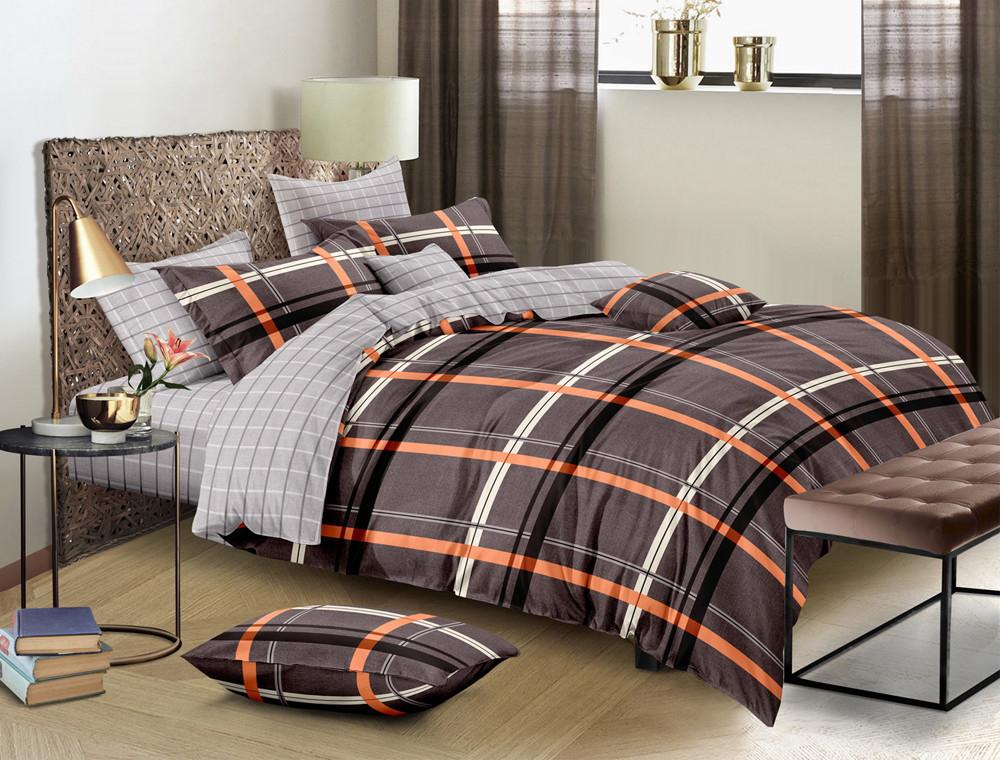 Двуспальный набор постельного белья 180*220 из Ранфорса №420 Черешенка™
