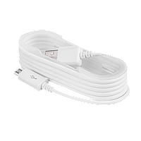 Кабель LogicPower USB - micro USB 1.5м белый Compatible for Samsung/ OEM