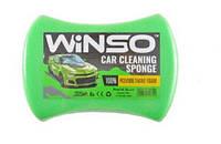 WINSO Винсо Губка для миття авто WINSO з дрібними порами 200*140*60mm, (50шт.в уп.)