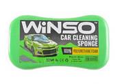 WINSO Винсо Губка для миття авто WINSO з дрібними порами 220*120*60mm, (50шт.в уп.)