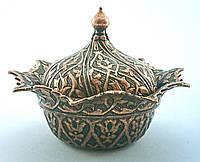 Лукумница круглая виде цветка Турция, цвет: медь