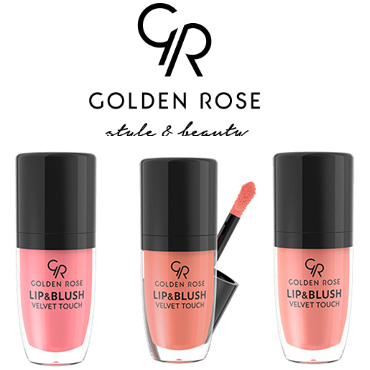 Румяна жидкие Golden Rose Lip & Blush Velvet Touch