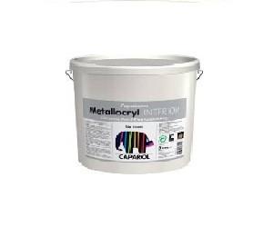 """Краска """"металлик"""" CAPADECOR METALLOCRYL INTERIOR, 2,5л"""
