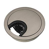 Заглушка для проводов Amix металл сталь