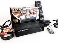 Т2 ТВ тюнер ресивер с поддержкой адаптера WiFi DVB-T2 UKC 0976, фото 1