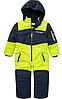 Термокомбінезон зимовий Topolino для хлопчика 98 см відрядний синій з жовтим