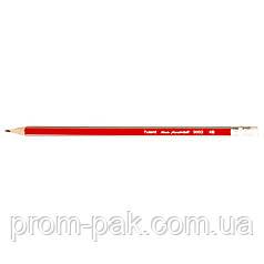 Карандаш  Axent 9003  НВ с резинкой