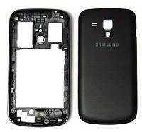Корпус для смартфону Samsung S7262 Galaxy Star Plus Duos, чорний