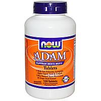 Витаминый комплекс Адам, Now Foods, 120 таблеток