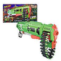 Бластер Нерф зомби страйк Рипчейн Комбат Nerf Zombie Ripchain Combat Blaster
