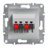 Аудиорозетка Schneider Electric Asfora Алюминий EPH5700161