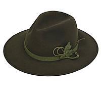 Шляпа охотничья фетровая Акрополис(Acropolis)ОКМ-1