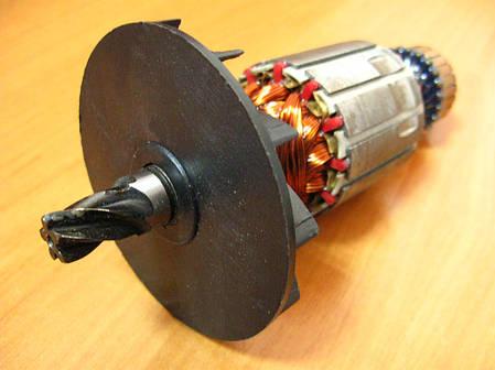 Якорь бочкового перфоратора короткий пакет (149х41 5z вправо), фото 2