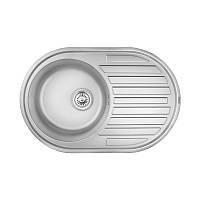 Мойка кухонная Cosh 7108 ZS Satin 08 нержавеющая сталь