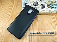 """Черный чехол бампер """"Rock"""" для Samsung Galaxy J6 (2018) J600 - матовый"""