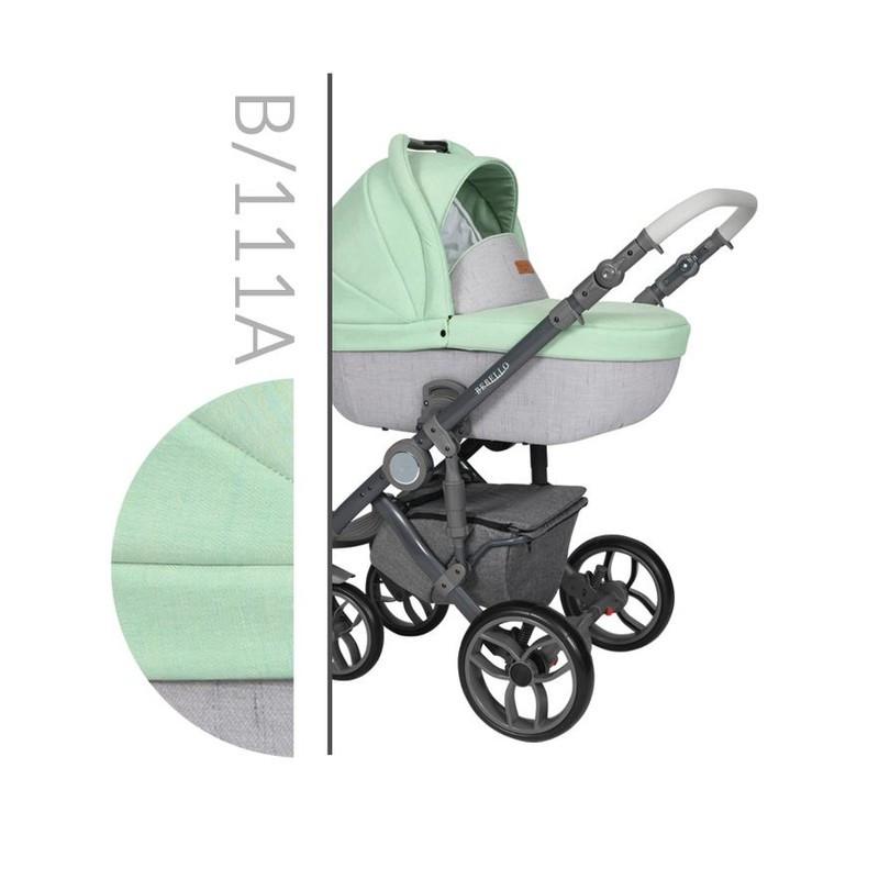 Коляска 2 в 1 Baby Merc Bebello B/111A (беби мерс бебело)