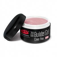 UV/LED Builder Gel Cover Pink PNB, моделирующий гель камуфлирующий розовый, 15 мл