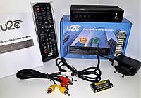U2C T2 HD BLUE MINI цифровой эфирный DVB-T2 ресивер Н (тюнер Т2)