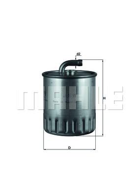 Фильтр топливный Knecht KL179
