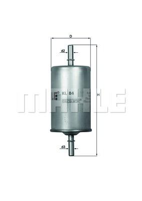 Фильтр топливный Knecht KL84