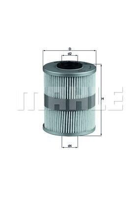 Фильтр топливный Knecht KX206D