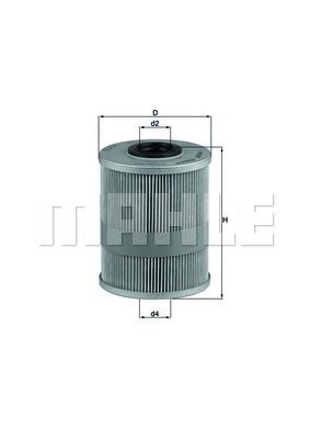 Фільтр паливний Knecht KX78D