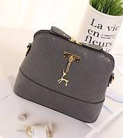 Женская маленькая сумочка Серый, фото 1