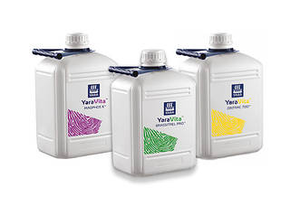 YARA Vita - рідкі мікродобрива, водорозчинні комплексні добрива для позакореневого підживлення