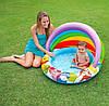 """Детский надувной бассейн Intex """"Винни Пух"""" с навесом, с шариками 30 шт., фото 4"""