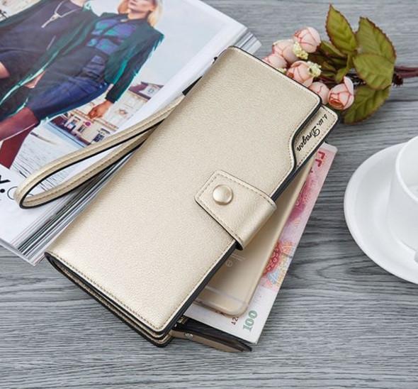 Модний жіночий гаманець клатч