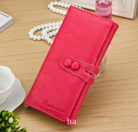 Модный женский кошелек Розовый