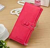 Модный женский кошелек Розовый, фото 1