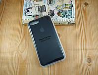 Оригинальный силиконовый чехол для Apple iPhone 7 Plus / 8 Plus Soft Touch черный
