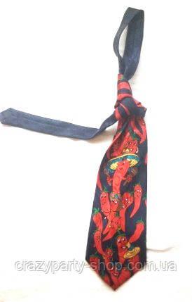 Прикольный галстук Перчики