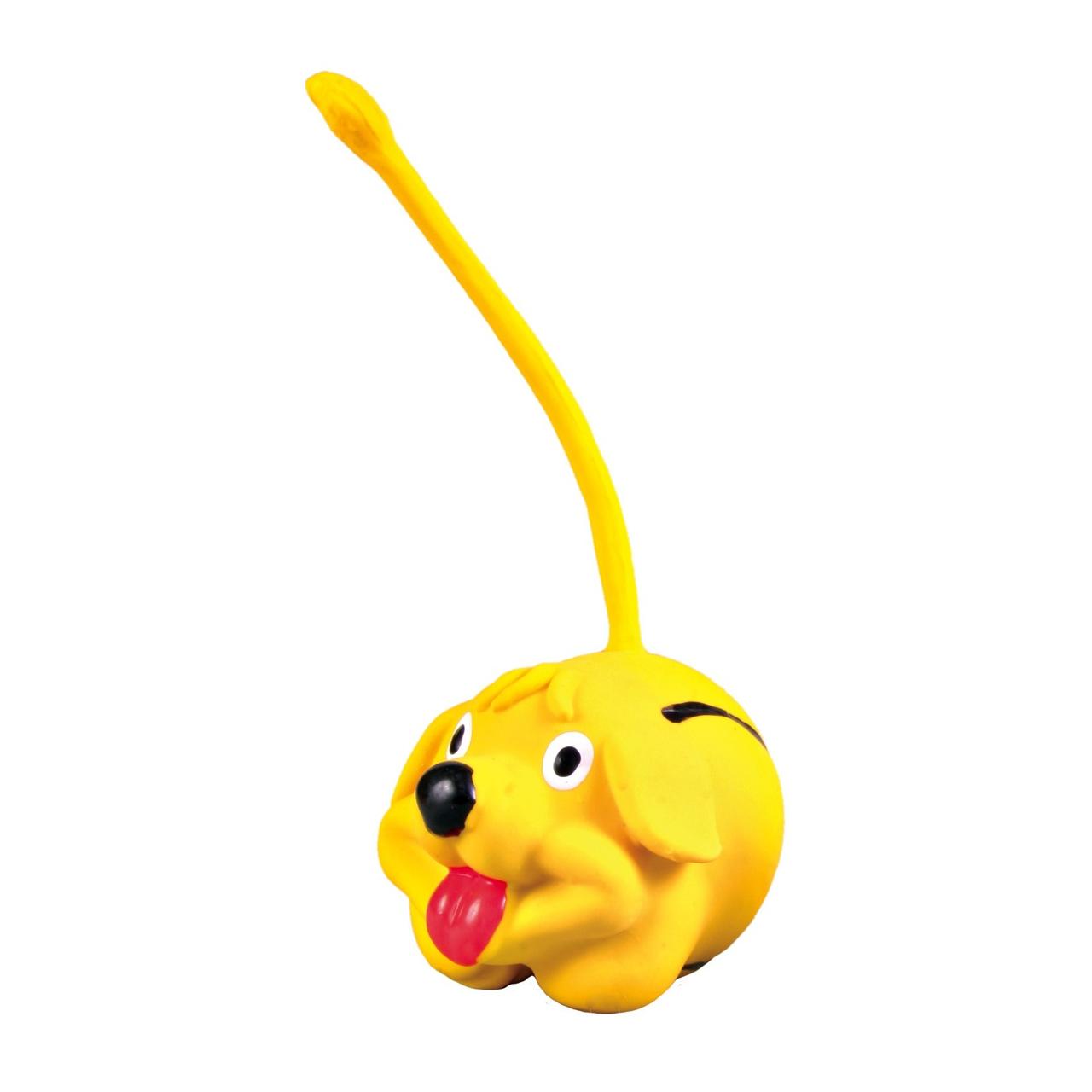 Игрушка для собак Trixie кругла з хвостом d=6 см (латекс, цвета в ассортименте) 3462